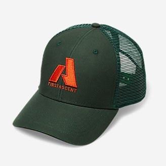 Graphic Hat - First Ascent in Green