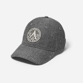 Graphic Hat - Chambray Tent in Black