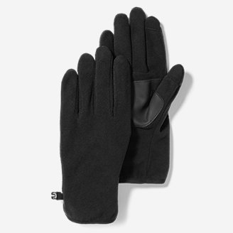 Quest Fleece Gloves in Black