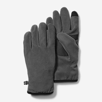 Quest Fleece Gloves in Gray