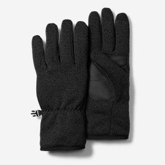 Radiator Fleece Gloves in Black