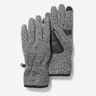 Radiator Fleece Gloves in Gray