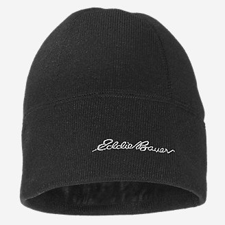 Radiator Fleece Beanie in Black