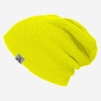 First Ascent Slouch Beanie in White