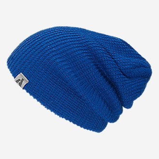 First Ascent Slouch Beanie in Blue