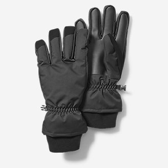 Men's Superior Down Gloves in Black