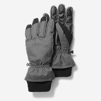 Men's Superior Down Gloves in Black