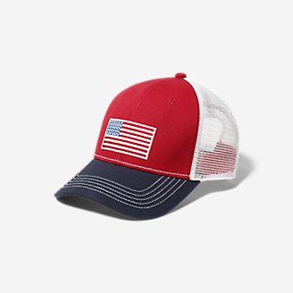 Graphic Cap - Flag in Red