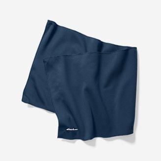 Serviette rafraîchissante Trailcool UPF en bleu en bleu