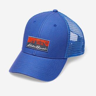 Graphic Cap - Eddie Bauer Logo in Blue