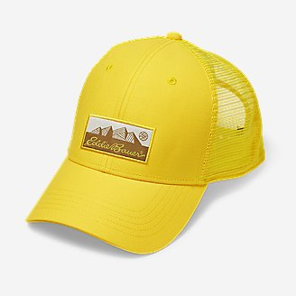 Graphic Cap - Eddie Bauer Logo in Yellow