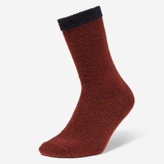 Men's Fireside Lounge Socks in Brown