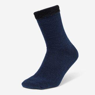 Men's Fireside Lounge Socks in Blue