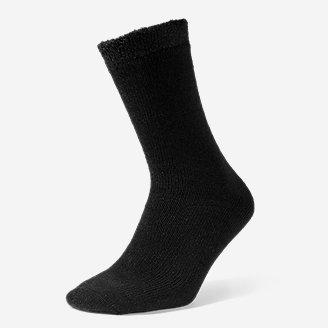 Men's Fireside Lounge Socks in Black