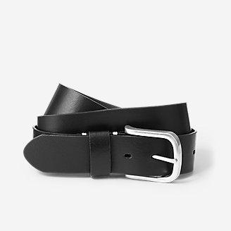Men's Everyday Leather Belt in Black