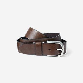 Men's Everyday Leather Belt in Brown
