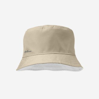 Exploration UPF Reversible Bucket Hat in Beige