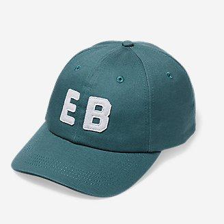 Graphic Cap - EB Letterman in Green