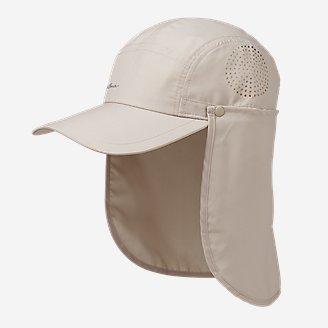 Sahara UPF Packable Shade Cap in Beige