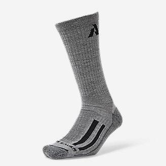 Guide Pro Merino Light Hiker Crew Socks in Gray