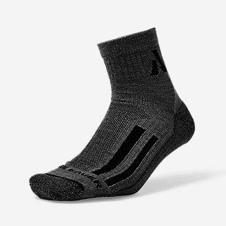 Guide Pro Merino Light Hiker 1/4-Crew Socks in Gray