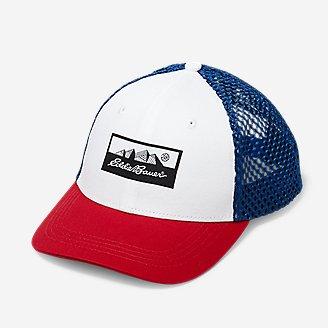 Graphic Cap - USA in White