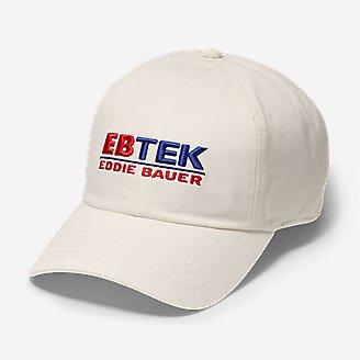 EBTek Dad Hat in White