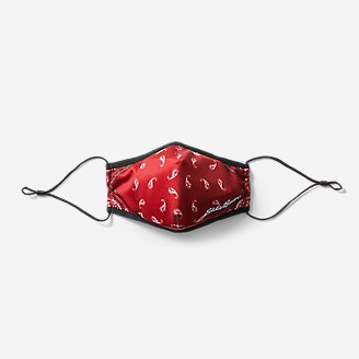 Reusable Filter Face Mask in Red