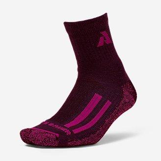 Guide Pro Merino LNT Mid-Crew Socks in Red