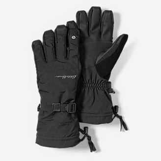 Powder Search Touchscreen Gloves in Black