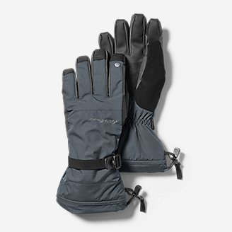 Powder Search Touchscreen Gloves in Gray