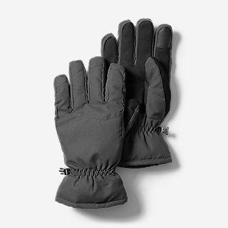 Men's Boundary Pass Down Gloves in Gray