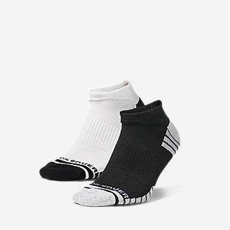 Men's Active Pro COOLMAX Low Socks - 2 Pack in Black
