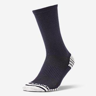 Men's Active Pro COOLMAX Crew Socks in Blue