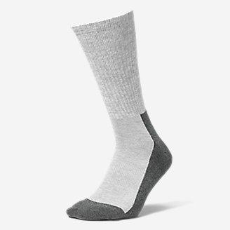 Men's Trail COOLMAX Crew Socks in Gray