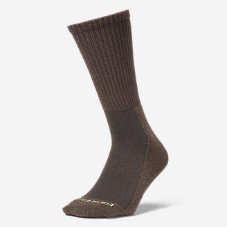 Men's Trail COOLMAX Crew Socks in Brown