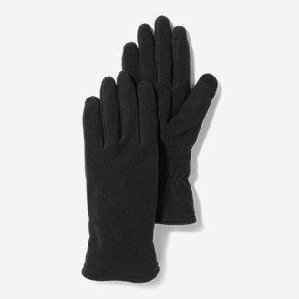 Women's Quest Fleece Gloves in Black