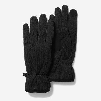 Women's Radiator Fleece Gloves in Black