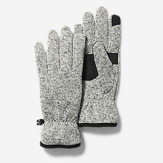 Women's Radiator Fleece Gloves in Gray