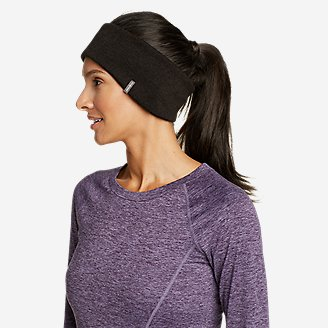 Radiator Fleece Headband in Black
