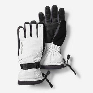 Women's Powder Search Touchscreen Gloves in White
