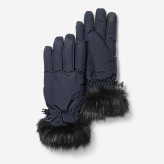 Women's Sun Valley Down Gloves in Blue