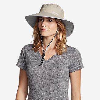 Women's Exploration UPF Wide Brim Hat in Beige