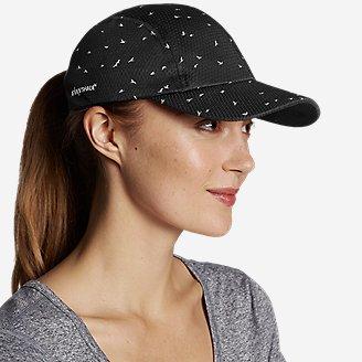 Women's Trail Packable UPF Cap in Black