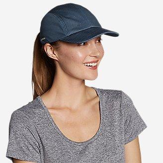 Women's Trail Packable UPF Cap in Blue
