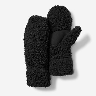 Women's Cabin Cloud Mittens in Black