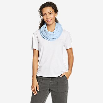 HIdden Cove Infinity Scarf in Blue