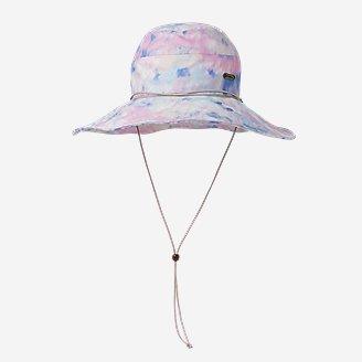 Women's Paradise Packable Wide-Brim Sun Hat in Purple