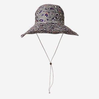 Women's Paradise Packable Wide-Brim Sun Hat in Green