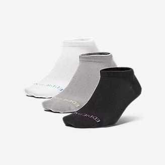 Women's COOLMAX Mesh Socks - 3 Pack in Gray